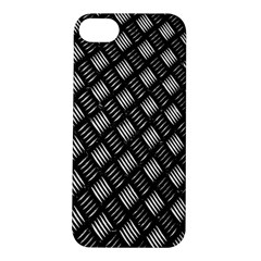 Abstract Of Metal Plate With Lines Apple iPhone 5S/ SE Hardshell Case