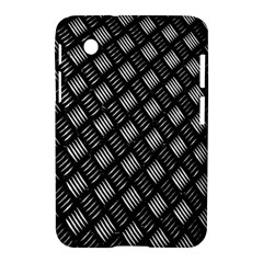 Abstract Of Metal Plate With Lines Samsung Galaxy Tab 2 (7 ) P3100 Hardshell Case