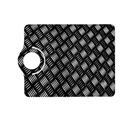 Abstract Of Metal Plate With Lines Kindle Fire Hd (2013) Flip 360 Case