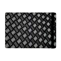 Abstract Of Metal Plate With Lines Ipad Mini 2 Flip Cases