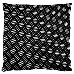 Abstract Of Metal Plate With Lines Standard Flano Cushion Case (one Side)