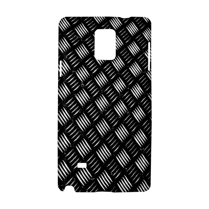 Abstract Of Metal Plate With Lines Samsung Galaxy Note 4 Hardshell Case