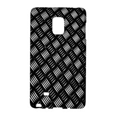Abstract Of Metal Plate With Lines Galaxy Note Edge