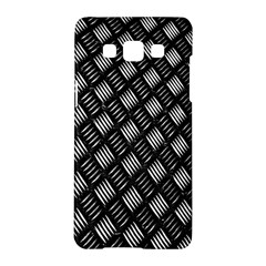 Abstract Of Metal Plate With Lines Samsung Galaxy A5 Hardshell Case