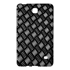 Abstract Of Metal Plate With Lines Samsung Galaxy Tab 4 (7 ) Hardshell Case