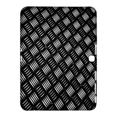 Abstract Of Metal Plate With Lines Samsung Galaxy Tab 4 (10 1 ) Hardshell Case