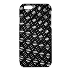 Abstract Of Metal Plate With Lines iPhone 6/6S TPU Case