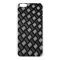 Abstract Of Metal Plate With Lines Apple Seamless iPhone 6 Plus/6S Plus Case (Transparent)