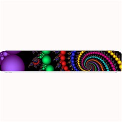 Fractal Background With High Quality Spiral Of Balls On Black Small Bar Mats