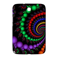 Fractal Background With High Quality Spiral Of Balls On Black Samsung Galaxy Note 8 0 N5100 Hardshell Case
