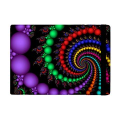 Fractal Background With High Quality Spiral Of Balls On Black Ipad Mini 2 Flip Cases