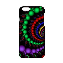 Fractal Background With High Quality Spiral Of Balls On Black Apple Iphone 6/6s Hardshell Case