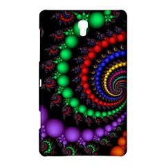 Fractal Background With High Quality Spiral Of Balls On Black Samsung Galaxy Tab S (8 4 ) Hardshell Case