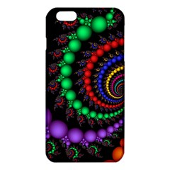 Fractal Background With High Quality Spiral Of Balls On Black Iphone 6 Plus/6s Plus Tpu Case
