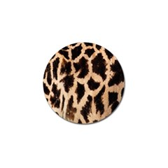 Yellow And Brown Spots On Giraffe Skin Texture Golf Ball Marker (10 Pack)