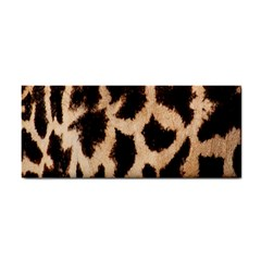 Yellow And Brown Spots On Giraffe Skin Texture Cosmetic Storage Cases