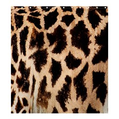Yellow And Brown Spots On Giraffe Skin Texture Shower Curtain 66  X 72  (large)