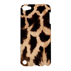 Yellow And Brown Spots On Giraffe Skin Texture Apple iPod Touch 5 Hardshell Case
