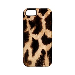 Yellow And Brown Spots On Giraffe Skin Texture Apple Iphone 5 Classic Hardshell Case (pc+silicone)