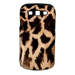 Yellow And Brown Spots On Giraffe Skin Texture Samsung Galaxy S III Classic Hardshell Case (PC+Silicone)
