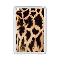 Yellow And Brown Spots On Giraffe Skin Texture Ipad Mini 2 Enamel Coated Cases