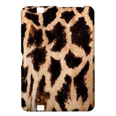 Yellow And Brown Spots On Giraffe Skin Texture Kindle Fire HD 8.9