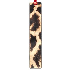 Yellow And Brown Spots On Giraffe Skin Texture Large Book Marks