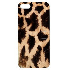 Yellow And Brown Spots On Giraffe Skin Texture Apple iPhone 5 Hardshell Case with Stand