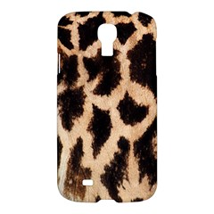 Yellow And Brown Spots On Giraffe Skin Texture Samsung Galaxy S4 I9500/i9505 Hardshell Case