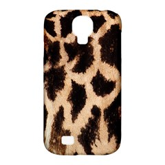 Yellow And Brown Spots On Giraffe Skin Texture Samsung Galaxy S4 Classic Hardshell Case (pc+silicone)