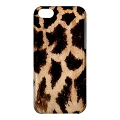 Yellow And Brown Spots On Giraffe Skin Texture Apple Iphone 5c Hardshell Case