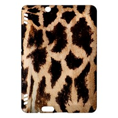 Yellow And Brown Spots On Giraffe Skin Texture Kindle Fire Hdx Hardshell Case