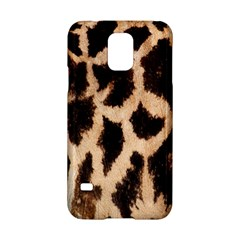 Yellow And Brown Spots On Giraffe Skin Texture Samsung Galaxy S5 Hardshell Case