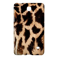 Yellow And Brown Spots On Giraffe Skin Texture Samsung Galaxy Tab 4 (7 ) Hardshell Case