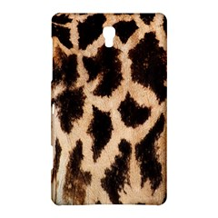 Yellow And Brown Spots On Giraffe Skin Texture Samsung Galaxy Tab S (8.4 ) Hardshell Case