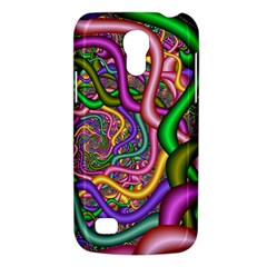 Fractal Background With Tangled Color Hoses Galaxy S4 Mini
