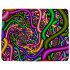 Fractal Background With Tangled Color Hoses Jigsaw Puzzle Photo Stand (rectangular)