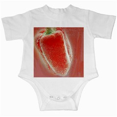 Red Pepper And Bubbles Infant Creepers