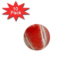 Red Pepper And Bubbles 1  Mini Magnet (10 pack)