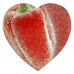 Red Pepper And Bubbles Jigsaw Puzzle (Heart)