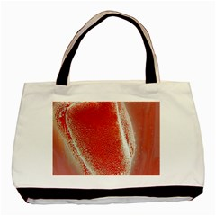 Red Pepper And Bubbles Basic Tote Bag