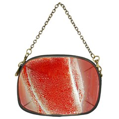 Red Pepper And Bubbles Chain Purses (one Side)