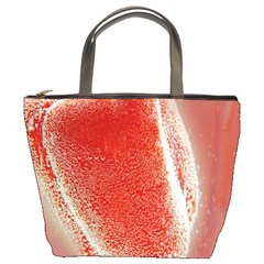 Red Pepper And Bubbles Bucket Bags