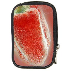 Red Pepper And Bubbles Compact Camera Cases