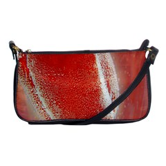 Red Pepper And Bubbles Shoulder Clutch Bags