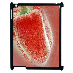 Red Pepper And Bubbles Apple Ipad 2 Case (black)