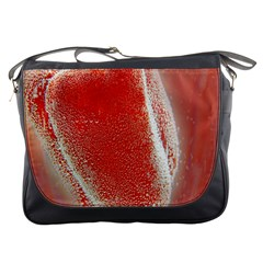 Red Pepper And Bubbles Messenger Bags