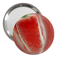 Red Pepper And Bubbles 3  Handbag Mirrors