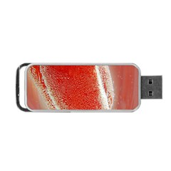 Red Pepper And Bubbles Portable USB Flash (One Side)