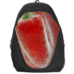 Red Pepper And Bubbles Backpack Bag